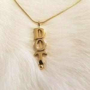 Vintage Avon DOT Necklace 1889